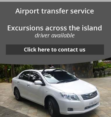 mauritius car hire-Service transferts aéroport